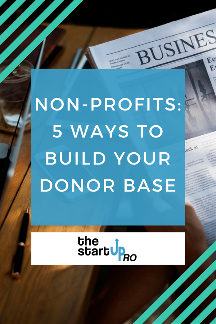 building a donor base