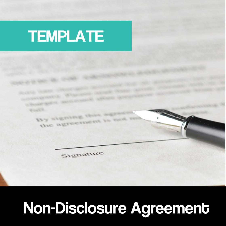 Non Disclosure Agreement Nda Template